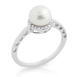 Princess Pearl Ring - Jewelry Buzz Box  - 1