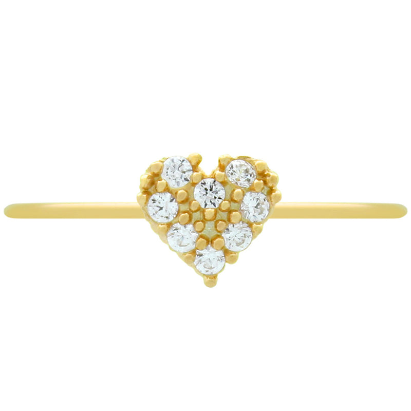 Cute Heart Stackable Ring - Jewelry Buzz Box  - 2