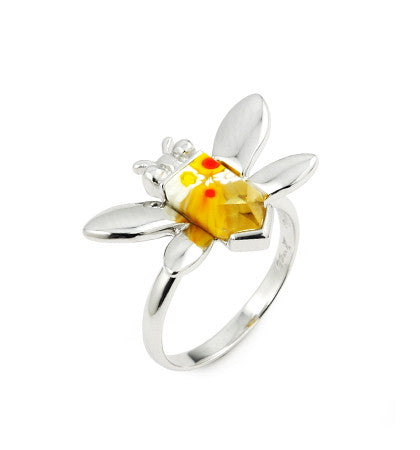 Honey Bee Ring - Jewelry Buzz Box  - 7