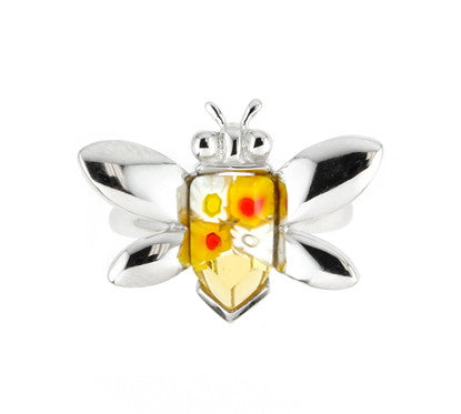 Honey Bee Ring - Jewelry Buzz Box  - 8