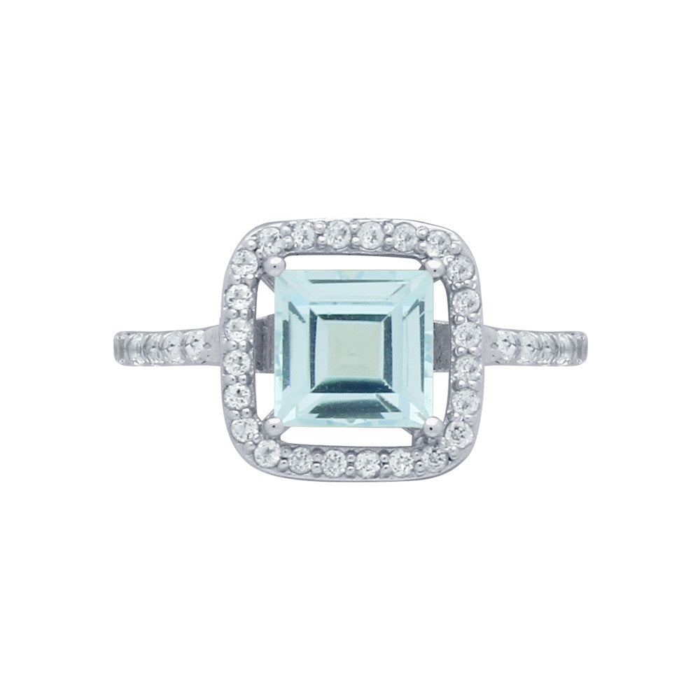 Blue Topaz Ring - Jewelry Buzz Box  - 1