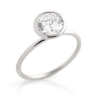 Glimmer Sterling Silver ring - Jewelry Buzz Box  - 3