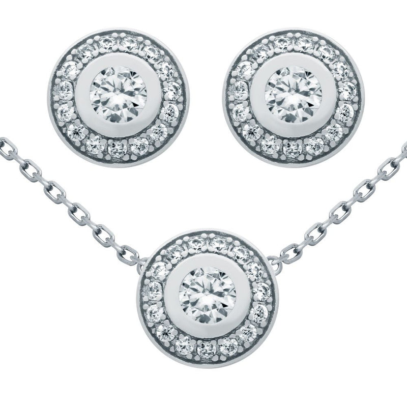 Celebrity Necklace & Earring Set - Jewelry Buzz Box  - 1