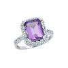 Amazing Amethyst Ring - Jewelry Buzz Box  - 2