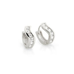 Sterling Swivel Hoop Earrings - Jewelry Buzz Box  - 3