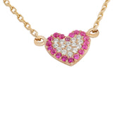 Heart Sterling Silver Necklace - Jewelry Buzz Box  - 2