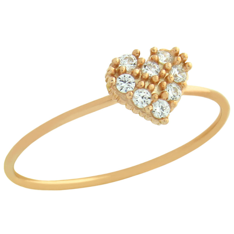 Cute Heart Stackable Ring - Jewelry Buzz Box  - 3