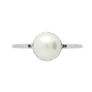 Princess Pearl Ring - Jewelry Buzz Box  - 2