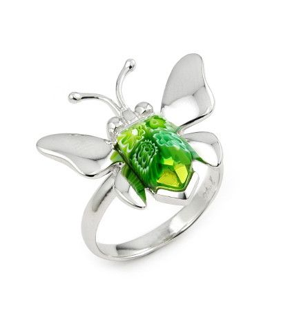 Butterfly Silver Ring - Jewelry Buzz Box  - 5