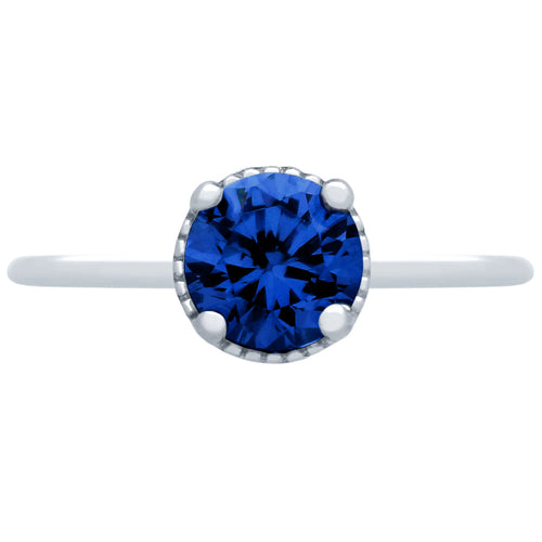 Deep Blue Ring - Jewelry Buzz Box  - 2