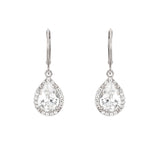 Spark Silver Teardrop Earrings - Jewelry Buzz Box  - 3