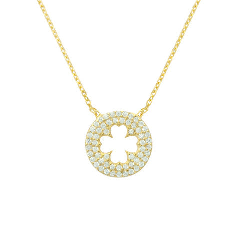 Cute Clover Necklace - Jewelry Buzz Box  - 3
