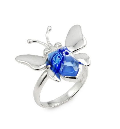 Butterfly Silver Ring - Jewelry Buzz Box  - 7