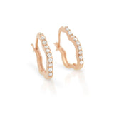 Fancy Flower Hoop Earrings - Jewelry Buzz Box  - 3