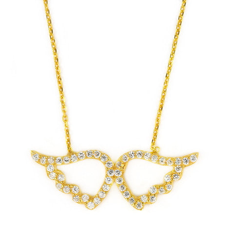 Wing Necklace - Jewelry Buzz Box  - 1