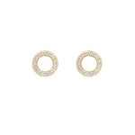 Open Circle Studs - Jewelry Buzz Box  - 5