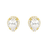 Dewdrop Stud Earrings - Jewelry Buzz Box  - 1