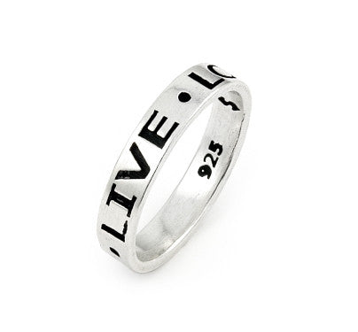 Live, Love, Laugh Ring