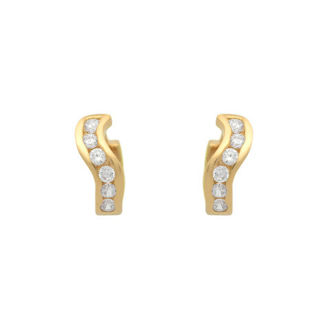 Sterling Swivel Hoop Earrings - Jewelry Buzz Box  - 6