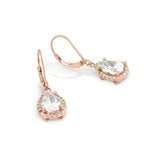 Spark Silver Teardrop Earrings - Jewelry Buzz Box  - 6