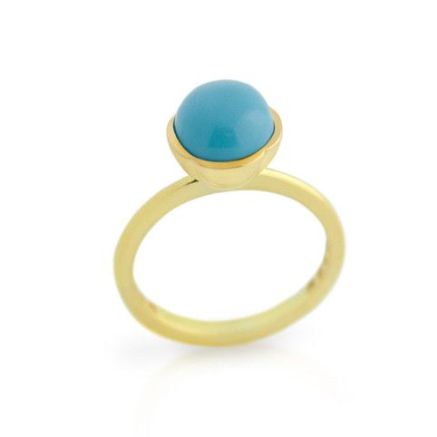 Cabochon Ring - Jewelry Buzz Box  - 1
