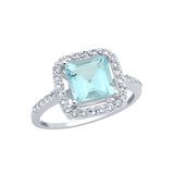 Blue Topaz Ring - Jewelry Buzz Box  - 2