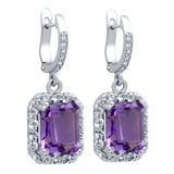 Amazing Amethyst Earrings - Jewelry Buzz Box  - 1
