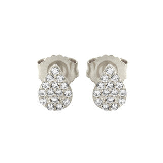 Tear Stud Earring - Jewelry Buzz Box  - 2