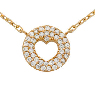 Heart Thump Necklace - Jewelry Buzz Box  - 1