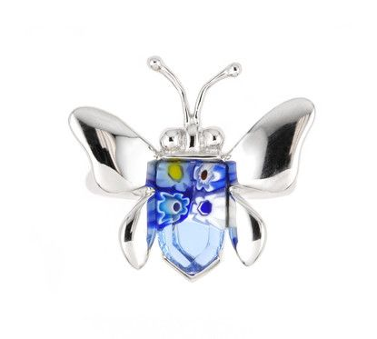 Butterfly Silver Ring - Jewelry Buzz Box  - 8