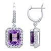Amazing Amethyst Earrings - Jewelry Buzz Box  - 2