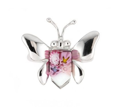 Butterfly Silver Ring - Jewelry Buzz Box  - 2
