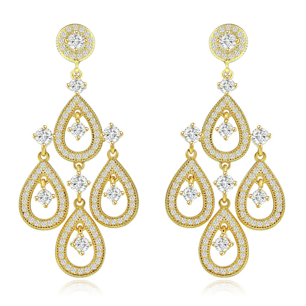 Persian Princess Earrings - Jewelry Buzz Box  - 2