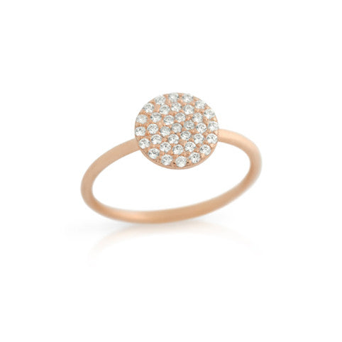 Shimmer Circle Ring - Jewelry Buzz Box  - 1