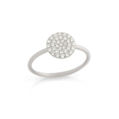 Shimmer Circle Ring - Jewelry Buzz Box  - 3