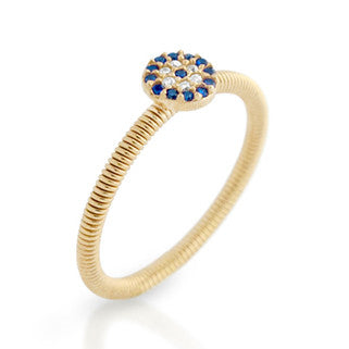 Dainty Eye Ring - Jewelry Buzz Box  - 1