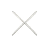 X Marks The Spot Ring - Jewelry Buzz Box  - 4