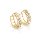 Hug Hoop Earrings - Jewelry Buzz Box  - 2