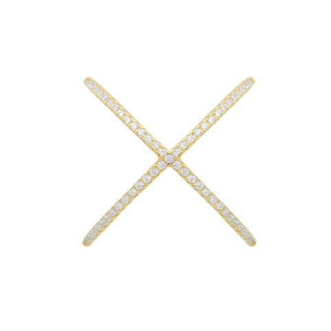 X Marks The Spot Ring - Jewelry Buzz Box  - 5