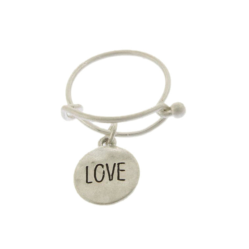 Love Disk Ring - Jewelry Buzz Box  - 2