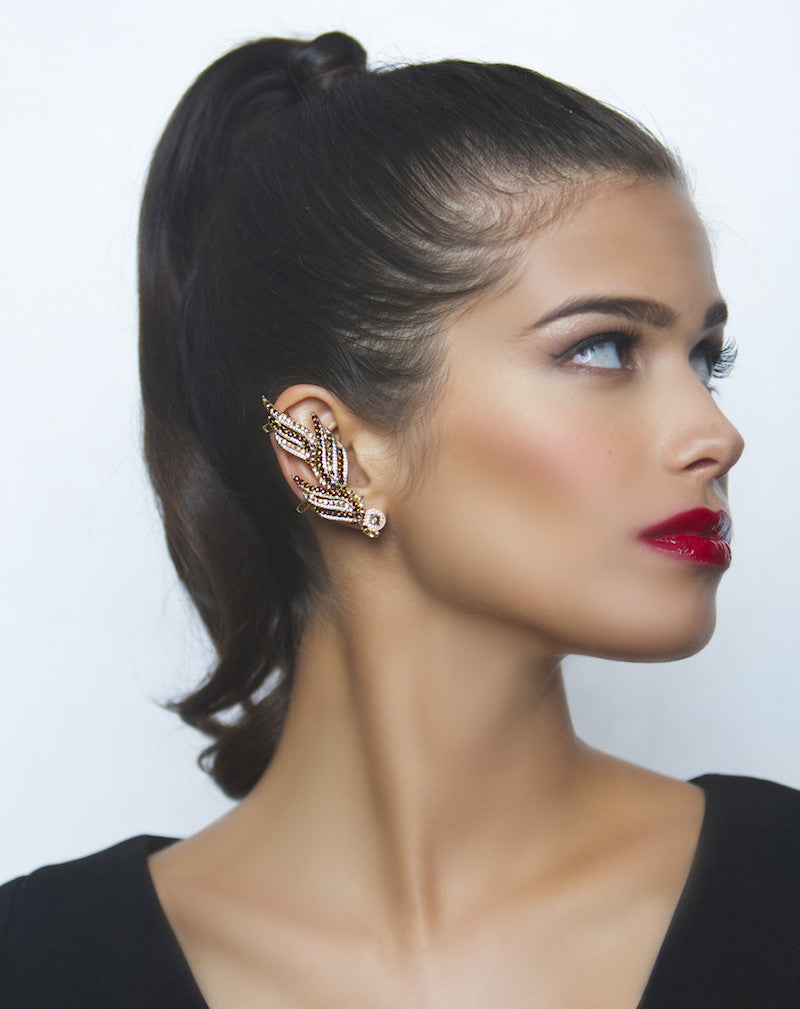 Helios Flame Earcuff - Jewelry Buzz Box  - 3