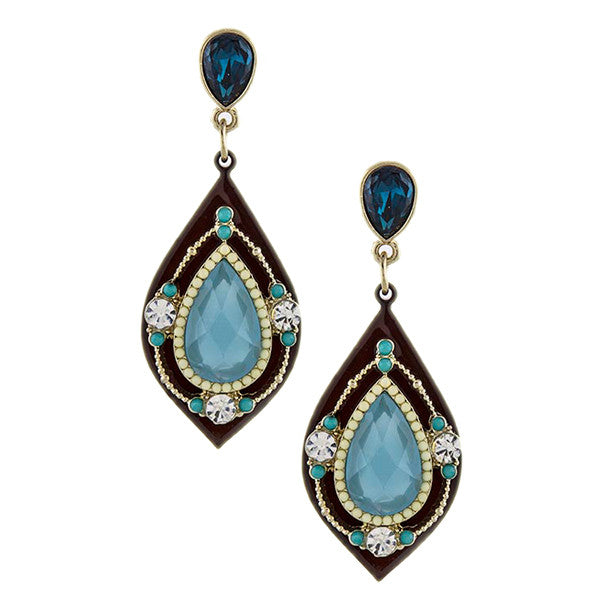 Moroccan Beauty Earrings - Jewelry Buzz Box  - 1