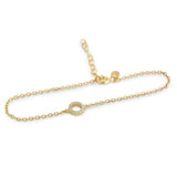 Dainty Circle Bracelet - Jewelry Buzz Box  - 1