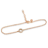 Dainty Circle Bracelet - Jewelry Buzz Box  - 3