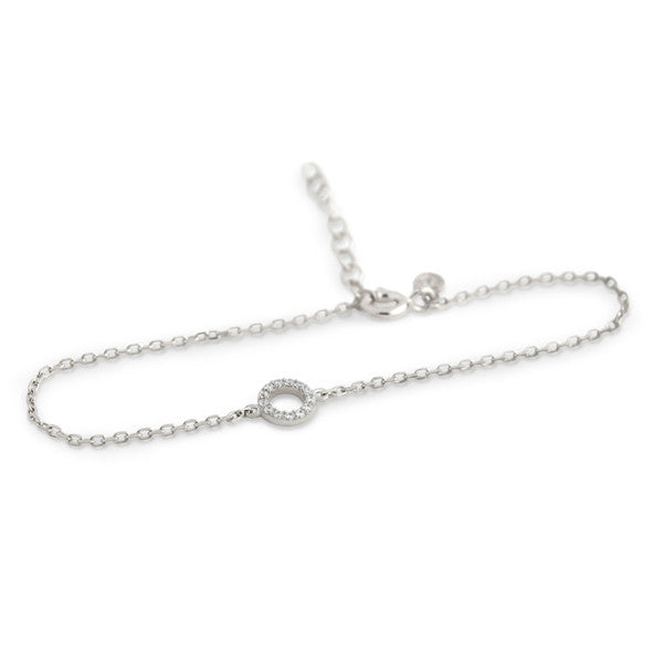 Dainty Circle Bracelet - Jewelry Buzz Box  - 5