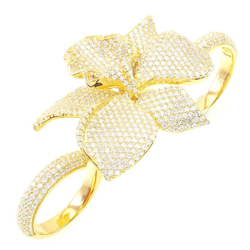 Astonishing Orchid Ring - Jewelry Buzz Box  - 1