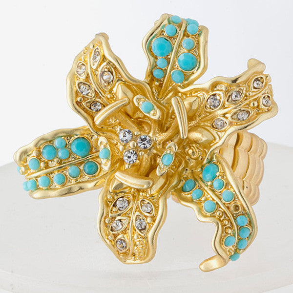 Orchid Ring - Jewelry Buzz Box  - 3