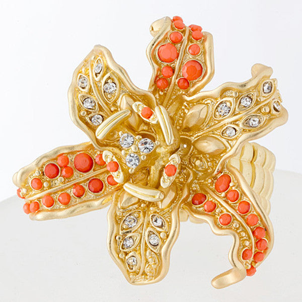 Orchid Ring - Jewelry Buzz Box  - 2