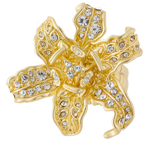 Orchid Ring - Jewelry Buzz Box  - 1
