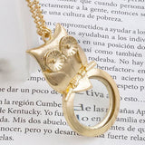 Owl Zoom Magnify Necklace - Jewelry Buzz Box  - 1